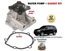 FOR SUZUKI GRAND VITARA 2.0i VVT J20A ENGINE 2005--> NEW WATER PUMP + GASKET KIT