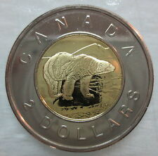 2002 CANADA TOONIE PROOF-LIKE TWO DOLLAR COIN