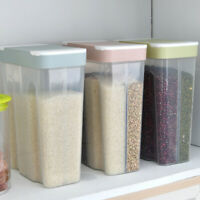 Airtight Food Storage Containers for Suga Flour Multigrains Fresh-keeping