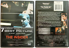 THE INSIDER AL PACINO RUSSEL CROWE TOUCHSTONE REGION 1 NTSC DVD