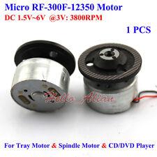 RF-300FA-12350 VCR CD DVD Player Spindle Tray Small Mini Motor DC1.5V-6V 3V 5.9V