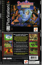 Ps1 Suikoden NTSC USA Front & Back Replacement Box Art Case Insert Cover Scan