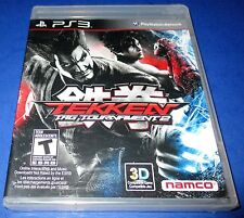 Tekken Tag Tournament 2 Sony PlayStation 3 *Factory Sealed! *Free Shipping!