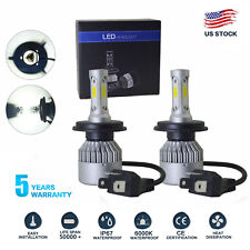 Cree Cob H4 Hb2 9003 76W 16000Lm Led Headlights Kit Hi/Lo Power Bulbs 6000K