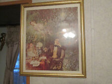22 X 25 Picture of Stephen Foster by Howard Chandler Christy, Gold Frame Matted