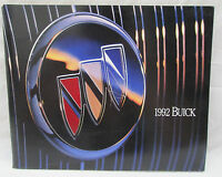 Vintage 1992 Riviera Regal LeSabre Park Avenue Skylark etc. Buick Color Brochure