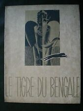 CINEMA. Le tigre du Bengale/ T.Von Harbou, film/ R.Eichberg, illustré/ R.Péron.