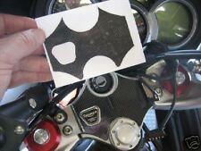 Triumph Sprint GT ST 1050 carbon vinyl yoke headstock protector