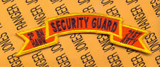 US Army 2nd Bn 21st Hawk Missle Artillery Regt ADA SECURITY GUARD scroll patch