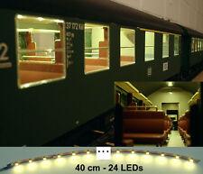 LED Personenwagen Beleuchtung digital 40cm warmweiss