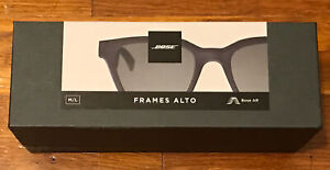 Bose Frames Alto Audio Smart Sunglasses M/L Black - NEW