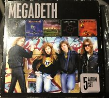 Megadeth - 5 Original Albums (5 x CD, Apr-2013, EMI)