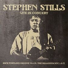 Stephen Stills - Live in Concert (2015)  CD  NEW/SEALED  SPEEDYPOST