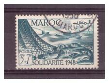 MAROC .  N° 273  .  3  F + 7 F     OBLITERE   . SUPERBE
