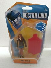 """Doctor Who Amy Pond Articulated Action Figure 3.75"""" Wave 3 (Brown Jacket) BNIB"""