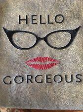 Makeup Cosmetic Travel Pouch Bag Fun + Flirty - 👄 Lipstick 💄 Zipper 10x8
