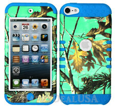 For Apple iPod Touch iTouch 5 | 6 - KoolKase Hybrid Cover Case Camo Mossy Green