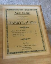 Vintage Sheet Music- Queen Amang the Heather,  Harry Lauder 1909