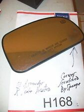 2003 ISUZU ASCENDER RIGHT SIDE MIRROR GLASS ONLY (SEE PIC SMALL SCRATCHS) #H168
