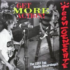 TEENGENERATE - GET MORE ACTION!!  VINYL LP NEW+