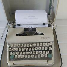 More details for vintage 1950s  west german olympia  typewriter manual  secretary  geek