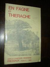 EN FAGNE ET THIERACHE - Tome 11 - 1970 - Presgaux Belgique