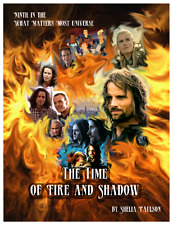 """Lord of Rings Real Ghostbusters Fanzine """"The Time of Fire and Shadow"""" GEN Novel"""