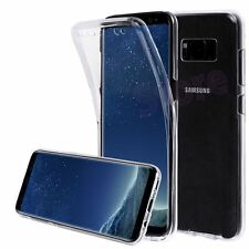 Funda DOBLE SILICONA SAMSUNG GALAXY S8 TRANSPARENTE GEL TPU
