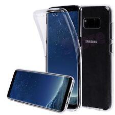 Funda doble silicona Samsung Galaxy S8 transparente gel TPU