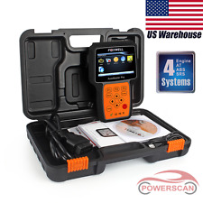 Foxwell NT614 Engine ABS Trans SRS Airbag 4 Systems Code Reader Scanner Tool US
