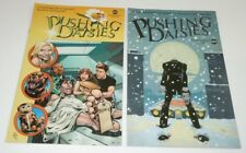 Pushing Daisies Comic DC LOT 2 Set SDCC Headless VARIANT ABC Tim Sale TV PROMO