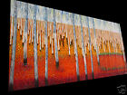Huge 2000mm Large aboriginal art painting landscape garden trees forest by jane