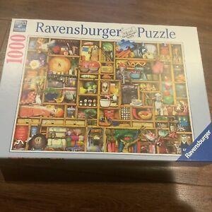 Ravensburger Kitchen Cupboard 1000 Piece Puzzle Number 192984 Complete Mint