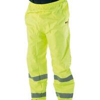 "Hi-viz Anti Static Flame Retardant Trousers Size 42/"" Waist Long Leg M8"
