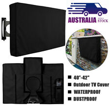 40-42inch Black Waterproof Outdoor TV Television Cover Dust Protector Case Bag