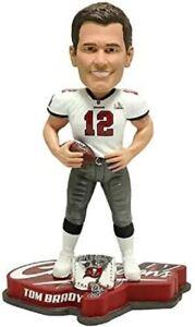 Tom Brady Tampa Bay Buccaneers Super Bowl LV Champions Bobblehead New In Box