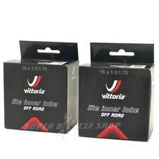 Vittoria Lite MTB Inner Tube 16x1.5/1.75 48L A/V Schrader Valve Two Pieces,Black