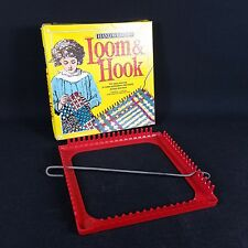 Vintage 1985 WNC Deluxe Plastic Jersey Loop Hand Weaving Loom #427