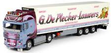 TEK64289 - Camion 4x2 DAF XF105 Super Space Cab er remorque frigo3 essieux Carri