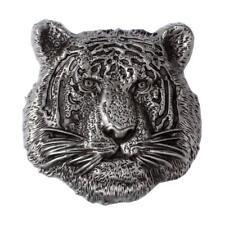 Boucle de ceinture tête de tigre Vintage 3D Cowboy Western Accessoires Cool