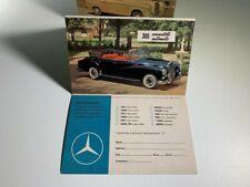 Mercedes Benz 1960's Dealer Advertisement, Info Request Booklet