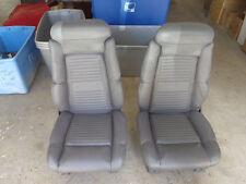 Pair Front Seats Buick Reatta 88 89 90 91
