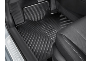 ALL WEATHER RUBBER MAT SET OF 4 FOR HYUNDAI I30 5 DOOR 2012-2015 A6131ADE10