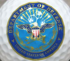 (1) Department Of Defense United States Of America Logo Golf Ball