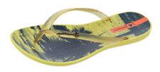 Sandalias y chanclas de mujer amarillos Ipanema