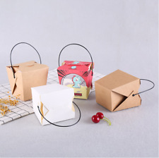 Disposable Food Grade Snack Chicken Popcorn Packaging Package Boxes Takeaway Box