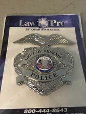 *OBSOLETE* Department of Defense Police Hat Badge