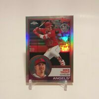 2018 Topps Chrome 83' Topps Mike Trout Refractor #83T-12 Los Angeles Angels