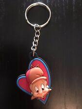 Collectible Elmer Fudd Heart Plastic Keychain - Warner Bros. Cartoon Characters
