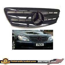 S-class all black grille black star AMG parts custom emblem star style Mercedes